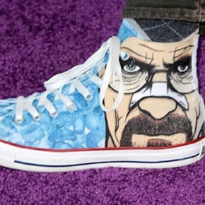 Bryan Cranston's Custom Pair Of Converse Chuck Taylor All Stars