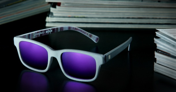 "Sole Collector x LOOK/SEE ""Pages"" Sunglasses"