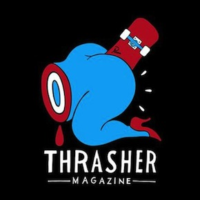 "Parra x Thrasher Magazine ""Credit Card"" T-Shirt"