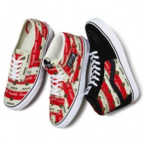 "Supreme x Vans ""Campbell's Soup"" Collection"