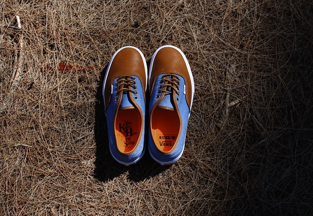 KICKS/HI x Vans Vault Authentic LX